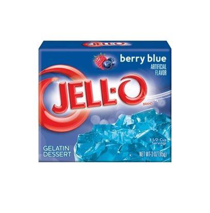 Hình ảnh củaBỘT RÂU CÂU JELL-O BLUE BERRY 85G